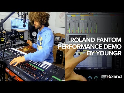 Roland FANTOM Performance Demo by Youngr