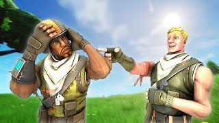 """So i hired the """"BEST AERIAL ASSAULT TROOPER"""" Fortnite Coach to help me build... (I GOT SCAMMED)"""