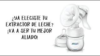 COMO ELEGIR EL EXTRACTOR DE LECHE MATERNA How to choose a breast pump