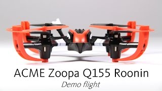 ACME Zoopa Q155 Roonin RC Quadrocopter - Demo flight