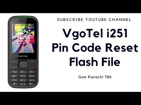 VgoTel I251 With CM2 Dongle Vgo Tel I251 User Code Unlock | Read Code | Boot Key