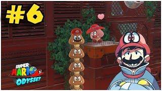 Enamorando a Goombina - Jugando Super Mario Odyssey con Pepe el Mago (#6)