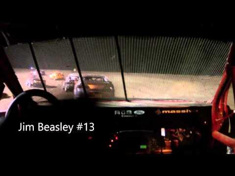 Jim Beasley #13 Sport Compact Feature Kankakee Speedway 9-19-14