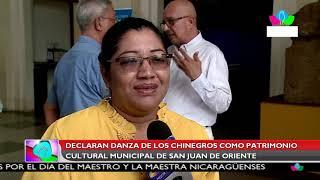Multinoticias | Declaran Danza de los Chinegros como patrimonio cultural de San Juan de Oriente