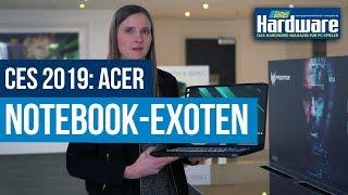 CES 2019 | Gaming-Convertible und Notebook-Leichtgewichte von Acer