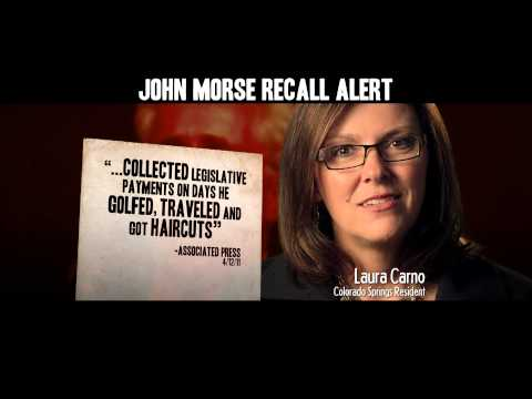 IACE Action Morse Ethics 30 TV Colorado Recall