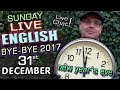 LIVE English Lesson - 31st December 2017 - NEW YEAR'S EVE - Goodbye 2017! - Mr Duncan - Live Chat