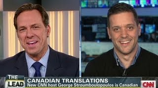 Quizzing Canadian George Stroumboulopoulos