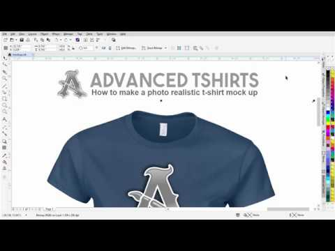 How to create t-shirt designs in coreldraw