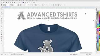 T-shirt Design Tutorial How to Make a Photo Realistic T-shirt Mock Up