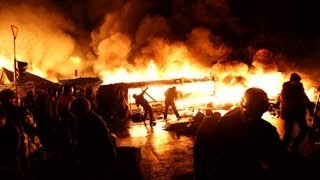 A New Cold War? Ukraine Violence Escalates, Leaked Tape Suggests U.S. Was Plotting Coup