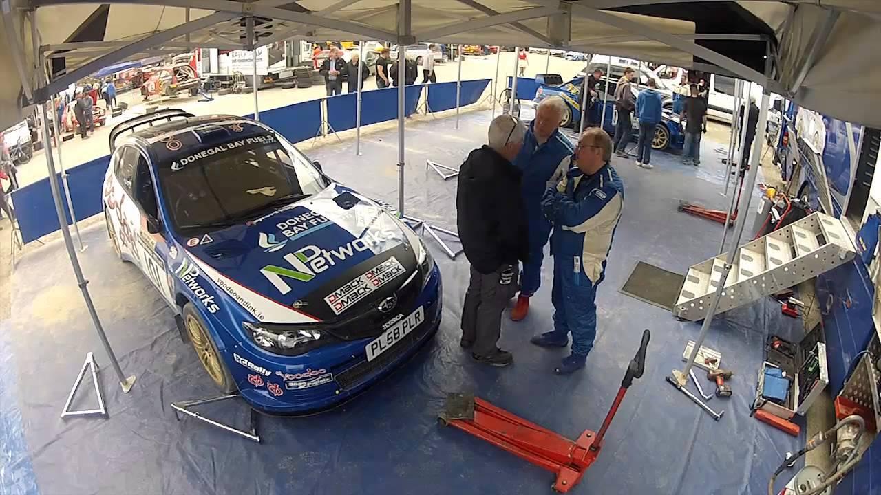 Harry Flatters 2012 Melvyn Evans Motorsport Service Area
