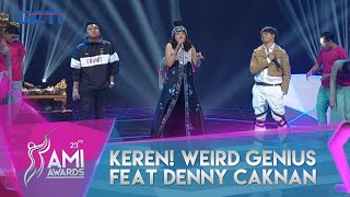 "Download Weird Genius x Sara Fajira x Denny Caknan - ""Lathi"" AMI AWARDS 23rd 