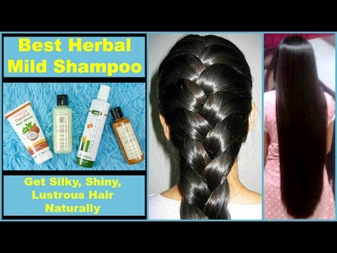 Best HERBAL & MILD Shampoos || Natural & Chemical Free