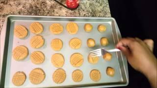 Easy 3 Ingredient Peanut Butter Cookies 20 Minute Dish