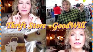 Come Shopping With Me ❣  Thrift Store Haul & Try On ❣  May 2016
