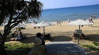Отдых на Хайнань пляж бухта Санья Бэй