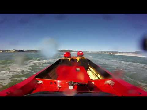 Chindit offshore race boat