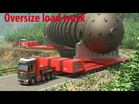 Heavy Equipment Accidents #RC Oversize Load Trucks Transport