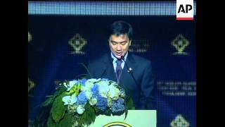 WRAP ASEAN summit opening,  adoption of human rights commission, reax