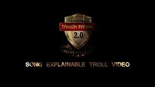 Tamil Padam 2 | Naan Yaarumila Video  Song Explainable Troll Video