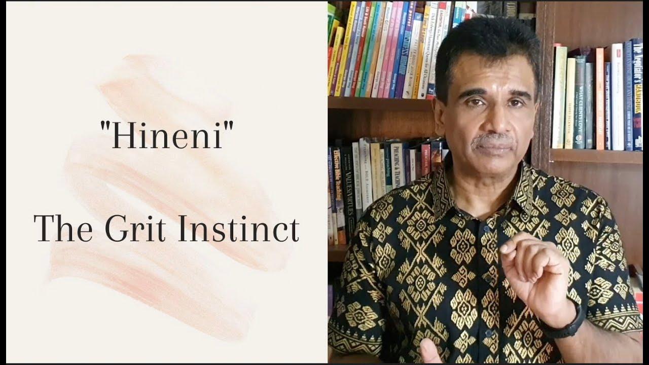 9 May English service: Grit Instinct ~ DR Benaiah Naresh