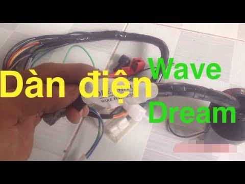 Chi Tiết Dàn điện Xe Máy || Xe Wave Dream