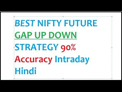 Best Nifty Future Strategy Gap Up Down Formula Hindi Intraday 90% accuracy