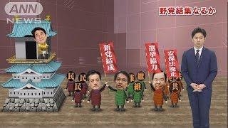 「まずいご飯にまずい味噌汁」新党結成に余裕の自民(16/02/24)