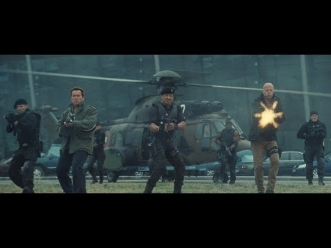 "Clip ""Action Legenden zusammen"" - THE EXPENDABLES 2 - (Full-HD) - Deutsch / German"