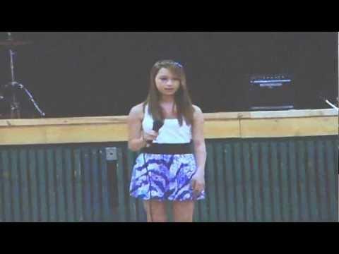 Amanda Todd Memorial (Nov 18, 2012) - Amanda Sang 'Someone ...