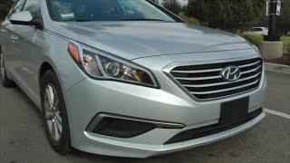 2016 Hyundai Sonata review, отзывы не владельца) обзор модели