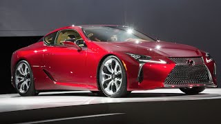Meet Lexus's New Halo Car, the LC 500