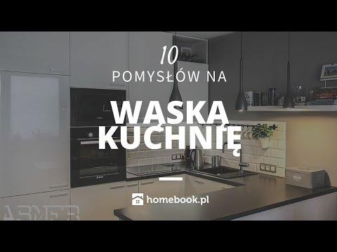 Jak Urzadzic Waska Kuchnie 10 Pomyslow Aranzacja Wnetrz Projekty