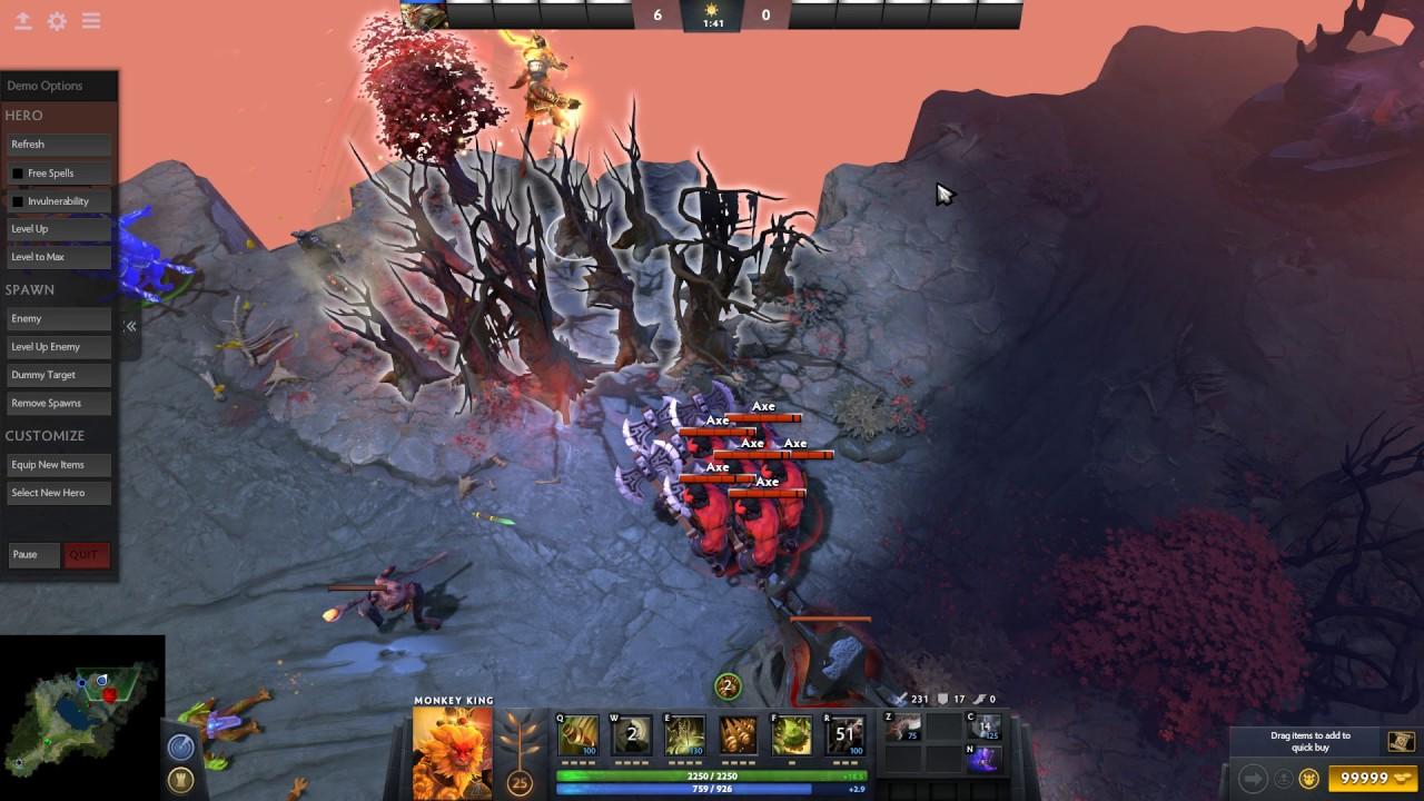 dota 2 monkey king update arcana new map viper remodel talent