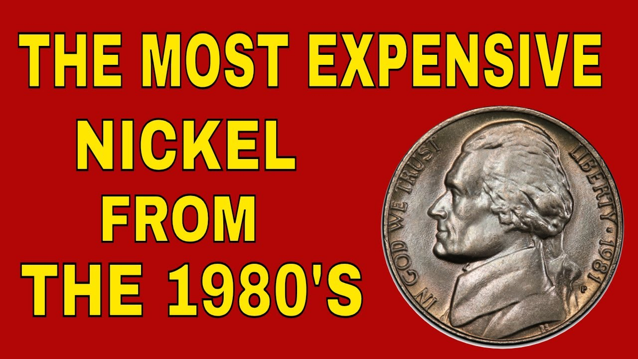 Rare 1981 nickel worth money! Valuable Jefferson nickels to look for!