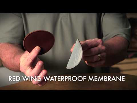 Red Wing Shoes Technology: Waterproofing Technology