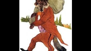 Big Bad Wolf con Little Bo Peep! ( Animación De Dibujos Animados).