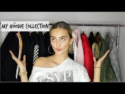 My Winter Hoodie/Jacket Collection 2017!♡ (OFF-WHITE, BALENCIAGA, ETC.) | Suede Brooks