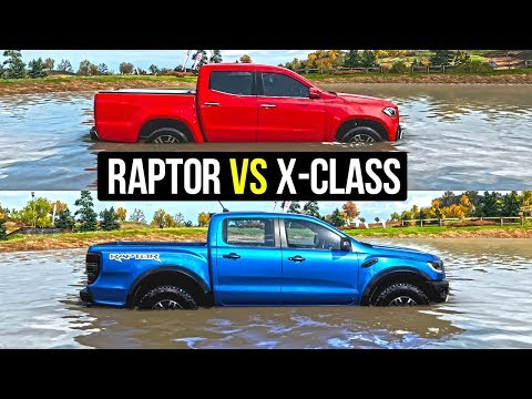 Forza Horizon 4 2019 Ford Ranger Raptor vs 2018 Mercedes Benz X-Class | Pickup Truck Comparison