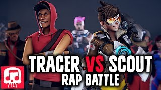 TRACER VS SCOUT Rap Battle by JT Machinima (Animated Version)