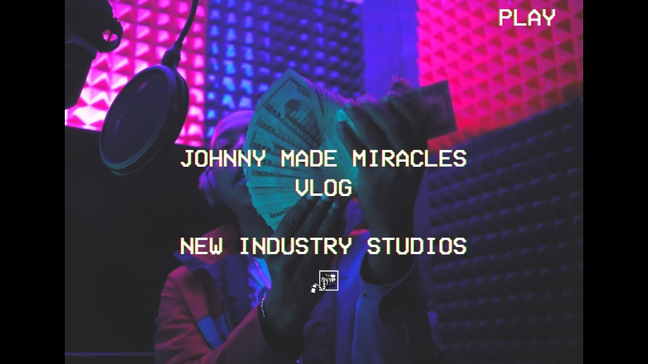 """Johnny Made Miracles """"New Industry Studios VLOG"""" 