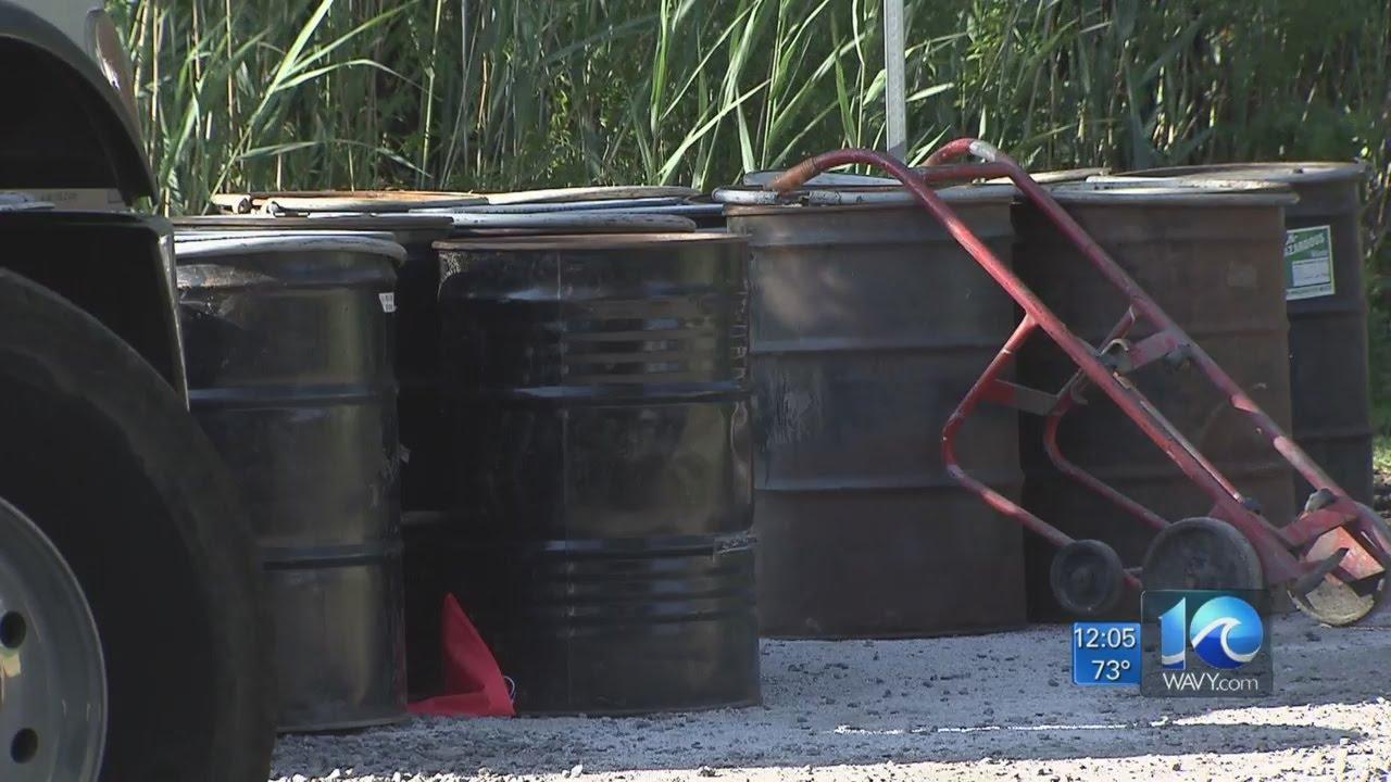 Virginia Beach Fuel Spill