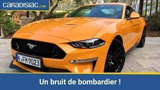Essai – Ford Mustang V8 GT 2018 : viscéralement attachante