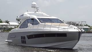 2015 Azimut 55S Brokerage Opportunity For Sale at MarineMax Naples Yacht Center