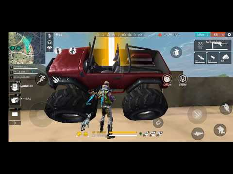 || Free 🔥 When  Airdrop || Monster Truck On Factory WTF 😂😂😂😂
