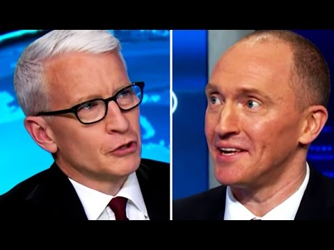 Anderson Cooper Attempts to Interview Carter Page, a Crazy Person Who Was or Wasn't a Trump Advisor