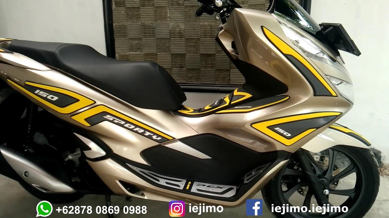 Modifikasi Honda Pcx 150 Tahun 2018 Motor Gold Youtube