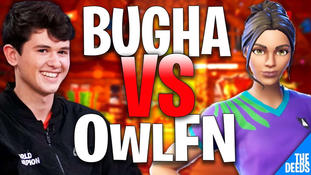 SEN Bugha 1 VS 1 Build Fight OwlFN | Fortnite Creative 1v1