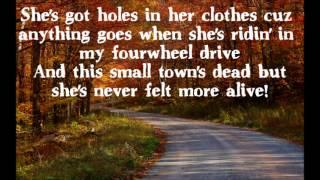 Florida Georgia Line Backwoods Beauty Queen Lyrics On Screen